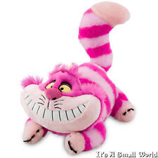 "Disney Store Cheshire Cat Plush Soft Doll Size 20"" Alice In Wonderland NWT"