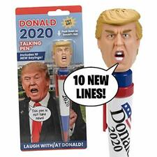 Donald Trump 2020 Talking Pen 10 Real Voice President Sayings Funny Gift