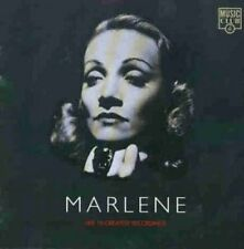 Marlene Dietrich Her 18 greatest recordings [CD]
