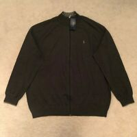 Polo Ralph Lauren Big & Tall Full Zip Long Sleeve Sweater / Jumper RRP: £145.00