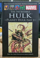 Marvel Ultimate Graphic Novels Collection Planet Hulk Part 1 Issue #23 Hardcover