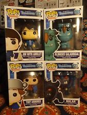 Funko POP! TV TROLL HUNTERS Target Excl JIM w/ AMULET TOBY ARMORED BULGAR +BLINK