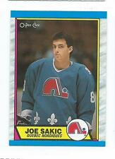 1989 OPC O-PEE-CHEE JOE SAKIC #113 HOF NHL RC ROOKIE QUEBEC NM-MT
