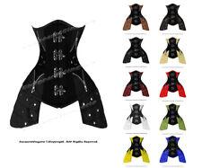 Heavy Duty 26 Double Steel Boned Waist Training Leather Underbust Corset #8405-A