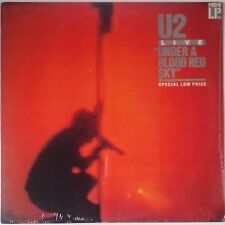 U2: Under a Blood Red Sky SEALED 80s COLUMBIA HOUSE Club VINYL LP Island USA