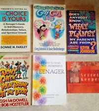 Lot of 6 Christian Teen Books on Modesty, Relationships, Values, Dating - EUC
