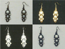 Pearl Glass Alloy Costume Earrings