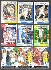 2019 19-20 CONTENDERS DP - GAME DAY, LEGACY, SCHOOL COLORS INSERTS - YOU PICK!!