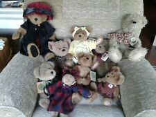 Boyds Bears Plush Lot Of 9