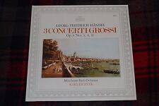 Georg Friedrich Handel~ 3 Concerti Grossi~Muchener Bach-Orchester~Karl Richter