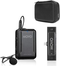 Movo EDGE-DI Wireless Lavalier Microphone System for Lightning, iPhone, iPad