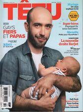 Tetu French Gay Interest Mag June 2013 Daft Punk Ryan Gosling 070918DBF