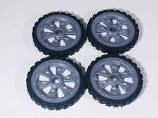 K'NEX Parts - Small Wheels & Hubs - Lot Of 4 - KNEX - Part - Spares
