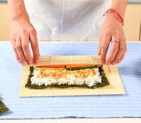 Kitchen Tool Sushi Maker Kit Rice Roll Mold DIY Mould Roller Mat Rice Paddle Set