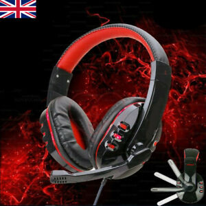Stereo Video Gaming Headset For Xbox One PS4 Nintendo Switch & PC Mic Headphone