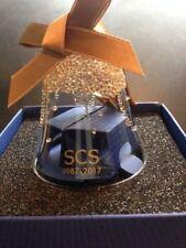 Swarovski Scs Crystal Bell Ornament 2017 #5295582