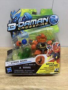 B-Daman Crossfire STRIKE AVIAN 2013 Action Figure Blaster HASBRO USA