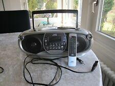 Radiorecorder mit CD MP 3 JVC RC-EZ36 Mit Originalfernbedienung kaum gebraucht