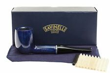 Savinelli Arcobaleno 111 Blue Tobacco Pipe - Smooth