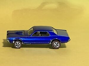 RedLine 1968 Blue Custom Cougar with White interior C9+ Very Tough Find!