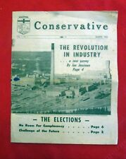 Manitoba Conservative Newspaper Premier Issue March 1963 John Diefenbaker slc1