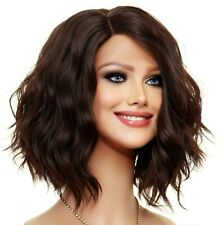 LOOSE BEACHY WAVES WIG HEAT SAFE  STUNNING STYLE COLOR CLR #4 US SELL 1445