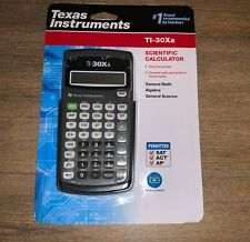 Texas Instruments TI-30XA Scientific Calculator Gray Sealed NEW