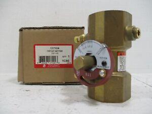 NEW Bell & Gossett CB-1-1/2 Balance Valve Circuit Setter 117104 B&G