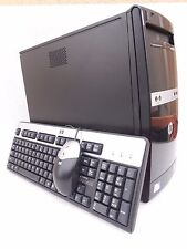 Stylish and Fast - HP 500b Tower PC Dual Core 3GHz 4GB Windows 7  - Great buy!