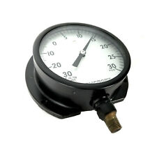 Ashcroft AMC 4296 Bronze Tube 0-30 PSIG General Purpose Pressure Gauge