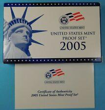 2005 U.S. PROOF set in original Mint Holders - Proof -  San Francisco mint