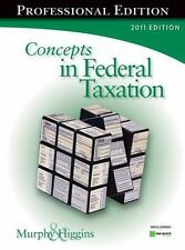 Concepts in Federal Taxation 2011, Professional Edition with H&R BLOCK At HomeT