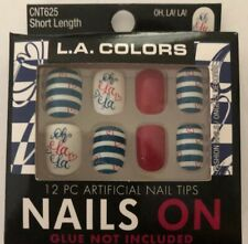 Patriotic Nail Tips New With Glue