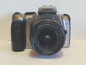 Canon EOS Digital Rebel / EOS 300D 6.3MP Digital SLR Camera - Silver Bundle