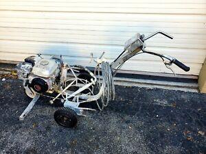 Graco 3400 Linelazer Striping Pavement Striper Machine Runs Fine $1349. obo