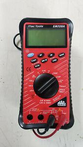 MAC TOOLS EM720A Digital Multimeter