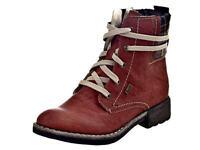 Rieker Stiefel Stiefeletten Boots Winter Damenschuhe 74620-38 Gr.36-43 Neu27