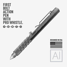 GP 1945 Bolt Action Plus Pen - Machined Aluminum Space Silver version