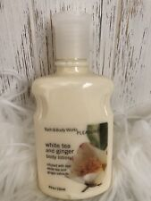 Bath & Body Works Pleasures White Tea And Ginger Body Lotion 8 oz New