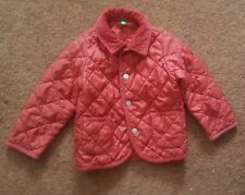 Baby Quilted Jacket Coat Age 12- 18 months United Colours of Benetton
