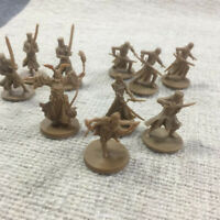random 8Pcs GOLD D&D Dungeons & Dragon Marvelous Miniatures DND Game Figure Toys