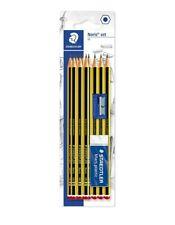 Staedtler Noris Pencil Set Hb With Eraser And Sharpener 10 Hb Pencils