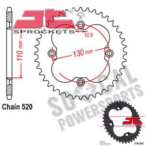 Steel Rear Sprocket 38T Honda TRX450ER,TRX450R,TRX4 JT Sprockets JTR1350.38