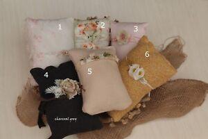 Newborn Baby Girls Boys Mini Pillow Set for Photo Prop Photography