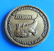 """#3820# Médaille jeton """"Tweedaagse van vlaanderen blankenberge  VIS VAN HET JAAR"""""""