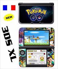 SKIN STICKER AUTOCOLLANT DECO POUR NINTENDO  3DSXL REF 210 POKEMON GO