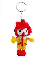 Ronald McDonald Lucky Handmade Charm Voodoo String Doll Keychain Keyring USA
