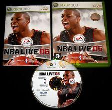 NBA LIVE 06 XBOX 360 Versione Italiana 1ª Edizione ••••• COMPLETO