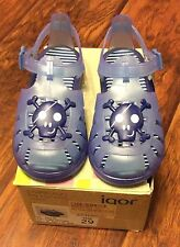 Boys Blue Sandals by Igor made in Spain size 29 M EU / US 11 M