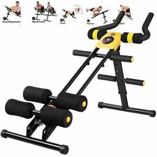AB Abdominal Exercise Machine Cruncher Trainer Fitness  Body Gym Equipment US